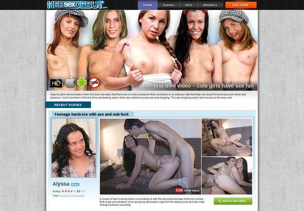 her sex debut hersexdebut.com