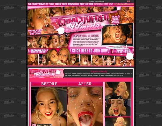 cum covered blondes cumcoveredblondes.com